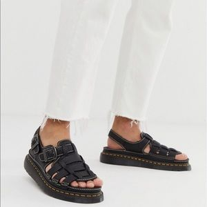 Men's sketchers leather sandals